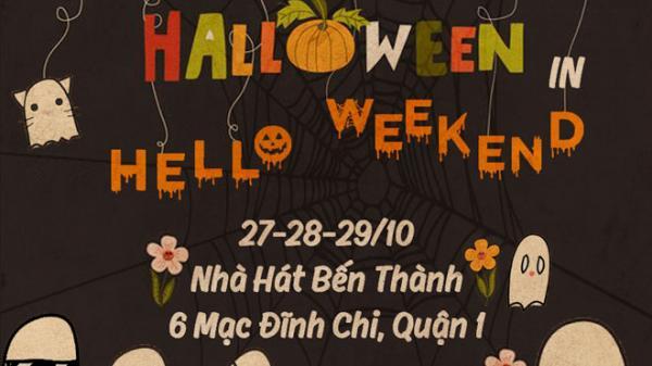 """Không thể bỏ lỡ phiên chợ Halloween """"hoành tráng nhất năm"""" ở quận 1 Sài Gòn"""