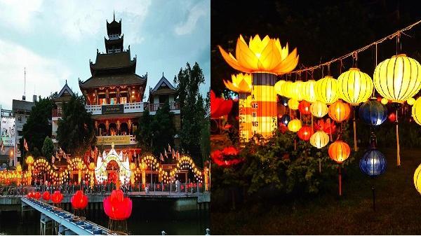 Không khí chuẩn bị Phật đản tại thành phố Hồ Chí Minh