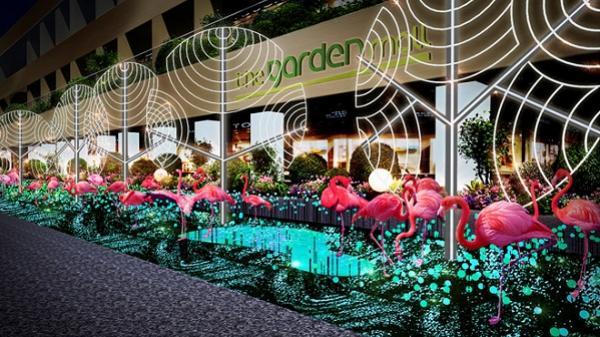 Đón chờ vườn thần thoại Hồng hạc tại The Garden Mall