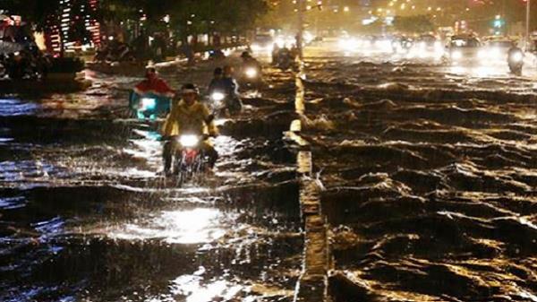 Sài Gòn sẽ ngập nặng do bão Damrey kết hợp triều cường
