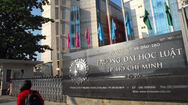 Hơn 100 sinh viên ĐH Luật TP.HCM bị buộc thôi học vì kết quả kém