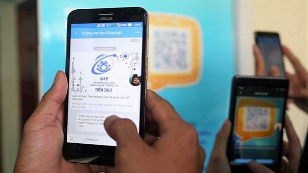 Sinh viên ĐH Công nghệ Thông tin nhận điểm thi và lịch học qua Zalo