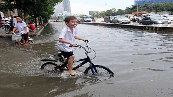 Cả nước mưa dông, Sài Gòn đề phòng sấm sét và gió mạnh