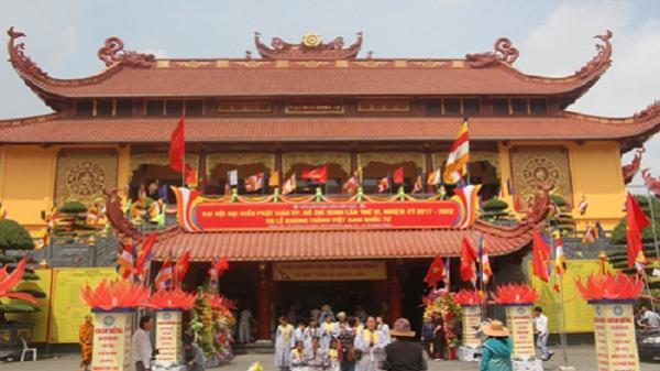 Khánh thành ngôi chùa đặt xá lợi trái tim hòa thượng Thích Quảng Đức