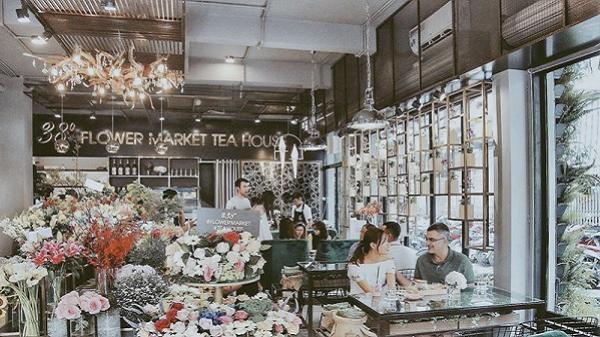 Phát cuồng với tiệm trà ngỡ như bước ra từ câu chuyện cổ tích Châu Âu ở Sài Gòn