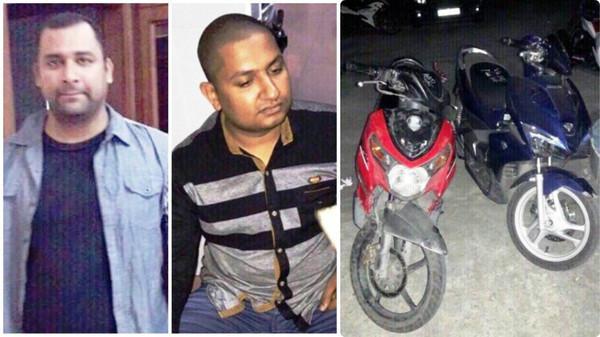 Bắt 2 người nước ngoài dùng roi điện cướp xe ga của tài xế GrabBike ở Sài Gòn
