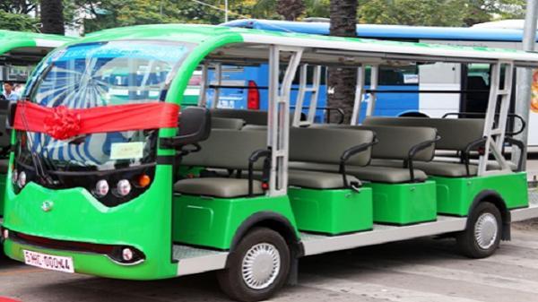 Ba tuyến xe điện chở khách đi buýt sông Sài Gòn