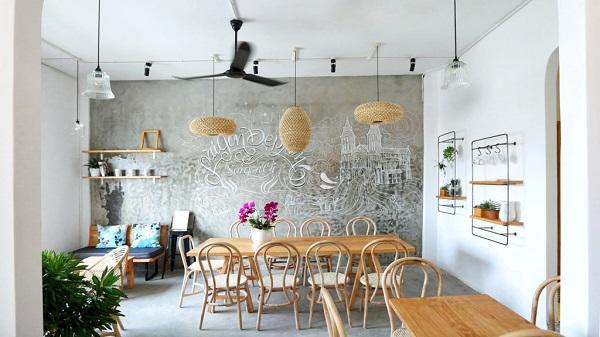 Không gian cà phê tuyệt vời để ngồi làm việc tại Sài Gòn