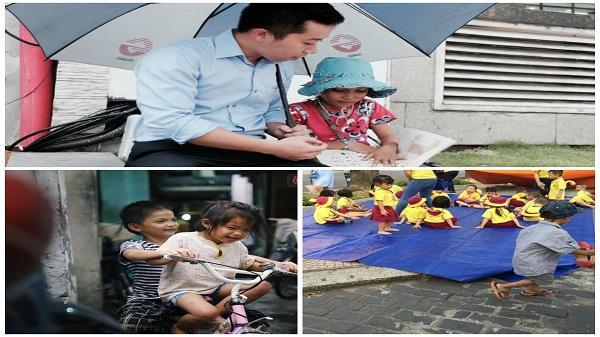 Hành trình mà nhiều người lớn tử tế đang tìm lại niềm vui cho những đứa bé nghèo ở Sài Gòn