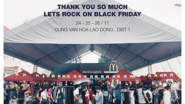 """""""Bung lụa"""" mua sắm thả ga tại hội chợ cuối tuần nhân dịp Black Friday ở Sài Gòn"""