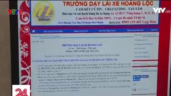 CẢNH GIÁC với các điểm dạy lái xe chui ở Tp. Hồ Chí Minh