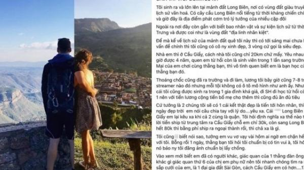 Ngại yêu xa, nàng 9x Hà Nội chia tay luôn bạn trai cùng thành phố để cưới đại gia Sài Gòn
