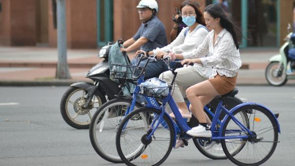 Thí điểm xe đạp công cộng ở trung tâm Sài Gòn từ tháng 8