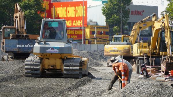 """TP.HCM: Con đường """"rốn ngập"""" sắp hoàn thành nâng cấp"""