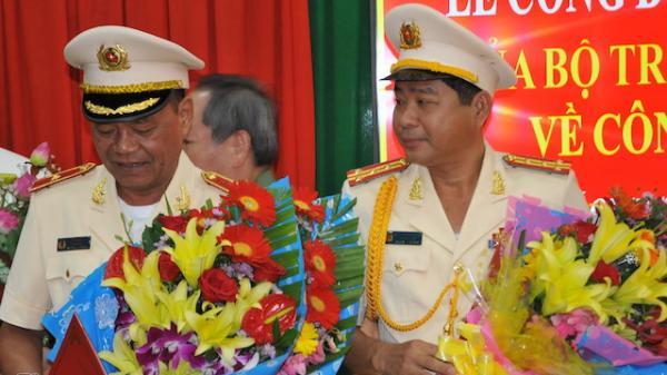 Trao quyết định chờ nghỉ hưu đối với thiếu tướng quê Trà Vinh Lê Văn Út và bổ nhiệm tân giám đốc Công an tỉnh Vĩnh Long