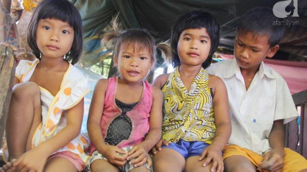 Trà Vinh: 7 đứa trẻ nghỉ học, sống nheo nhóc bên bà ngoại già cùng người mẹ điên sẽ có nhà mới và được đến trường