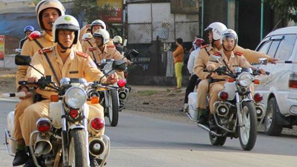 Từ 16/4, cảnh sát cả nước bắt đầu cao điểm xử phạt vi phạm giao thông