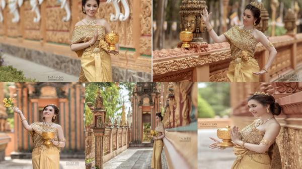 NGỌT NGÀO VÀ GỢI CẢM với bộ ảnh CỰC CHẤT của cô gái Khmer ở Trà Vinh