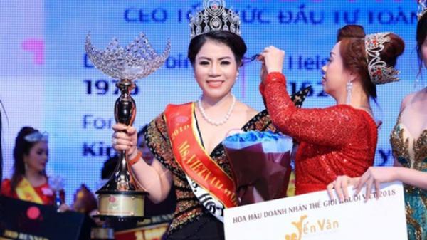 Hoa hậu doanh nhân cầm đầu đường dây mua bán hóa đơn hàng ngàn tỷ