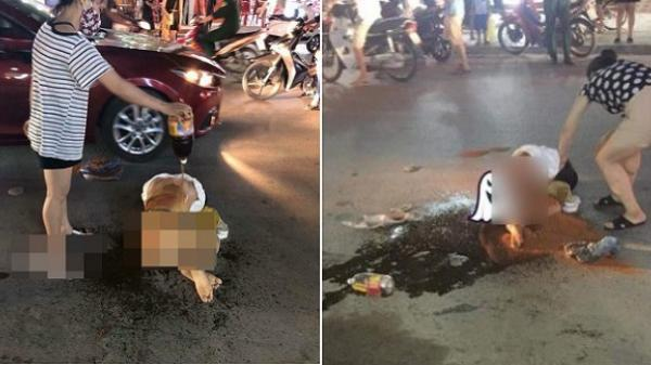 Cô gái trẻ bị đánh ghen kinh hoàng: Nhóm người xông vào lột đồ, đổ nước mắm và muối ớt lên người