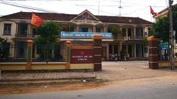 Nghệ An: Bắt giam bí thư, chủ tịch xã giao 143 lô đất sai trái
