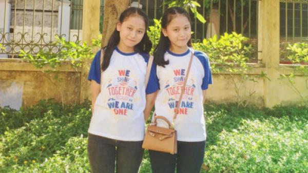 Nghệ An: Hai chị em sinh đôi đạt tốp đầu cuộc thi vào 10
