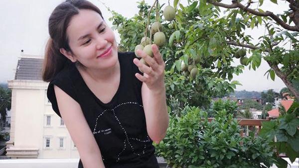 Vườn rau và cây trái ăn không hết phải đem cho của Hoa hậu quê Trà Vinh Phương Lê