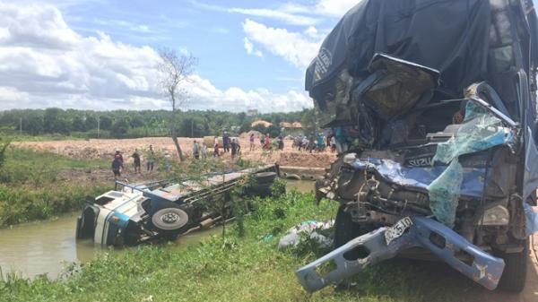 Tai nạn thảm khốc ở vùng sát Sài Gòn, 3 người chết thảm, 1 người bị thương