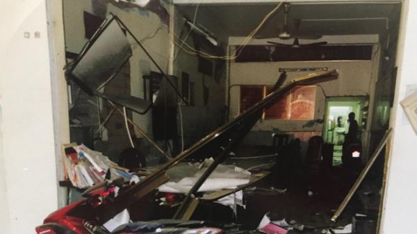 Nổ tại trụ sở công an ở Bình Dương, 4 cán bộ bị thương