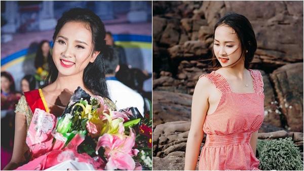 """Nhan sắc """"vạn người mê"""" của nữ sinh 2k xứ Nghệ vào chung khảo Hoa hậu VN"""
