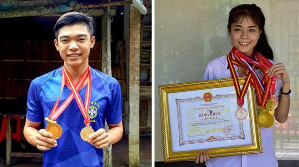 Sóc Trăng: Gặp gỡ 2 vận động viên giành huy chương vàng tại Giải điền kinh học sinh phổ thông toàn quốc
