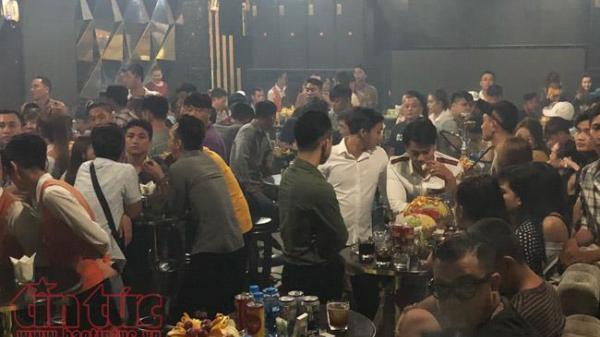 Đột kích quán bar: Tạm giữ gần 180 đối tượng nghi sử dụng ma túy
