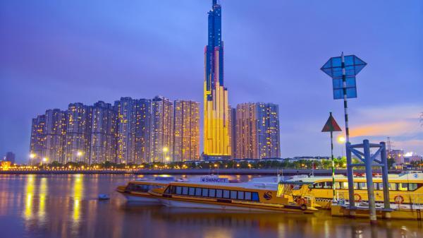 Toàn cảnh tòa nhà cao nhất Việt Nam mới mọc tại Sài Gòn