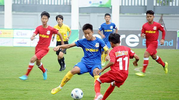 Sông Lam Nghệ An vô địch Giải Bóng đá U13 toàn quốc năm 2018