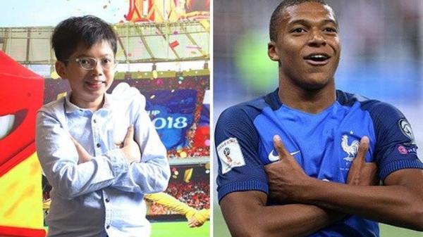 Cậu bé Việt quê Bến Tre ra sân ở trận chung kết World Cup 2018