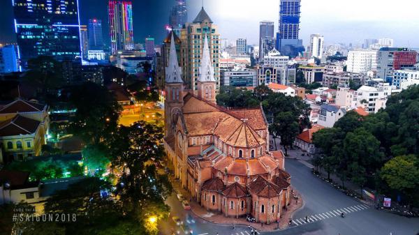 Sài Gòn đẹp rực rỡ qua ống kính nhiếp ảnh gia
