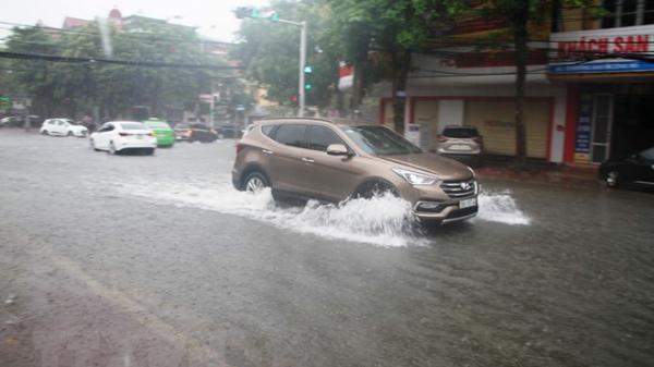 Thanh Hóa đến Quảng Bình mưa rất to, nguy cơ ngập úng ở Hà Tĩnh