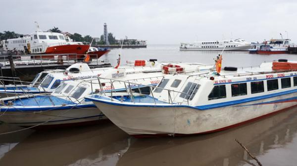 Sóc Trăng: Tàu cao tốc tạm ngưng ra Côn Đảo, Phú Quốc