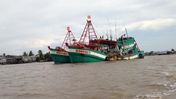 Cà Mau: 10 ngư dân bị Thái Lan bắt giữ, sắp về nước