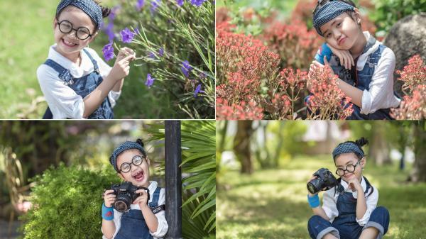 Những bức hình siêu kute của bé gái Trà Vinh - nguồn cảm hứng bất tận của người mẹ đam mê chụp ảnh dạo