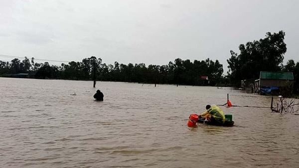 Nghệ An: Đi bắt cá sau mưa bão, 1 học sinh lớp 4 bị t.ử vong