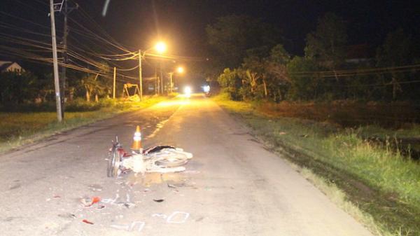Đang lưu thông trên quốc lộ hướng từ Vĩnh Long đi Trà Vinh, chiến sĩ xuất ngũ bị xe tải tông tử vong