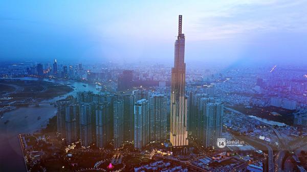 Chùm ảnh: Toàn cảnh toà nhà 81 tầng cao nhất Việt Nam trước ngày khai trương ở Sài Gòn