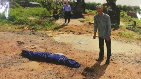 RỢN NGƯỜI: Người đàn ông miền Tây thiêu sống vợ đem xác phi tang ở nghĩa trang