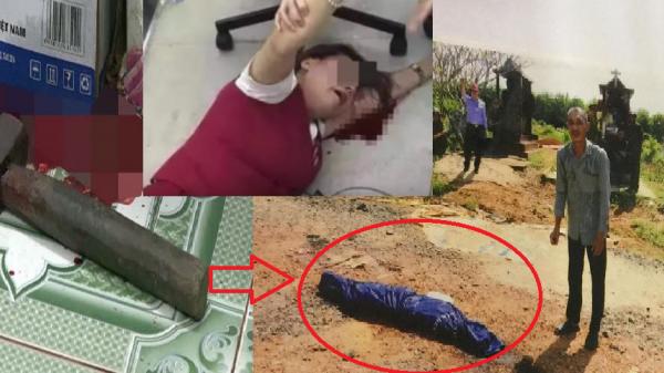 Bến Tre: Thảm án kinh hoàng chồng lấy búa đánh vợ, rồi đem xác phi tang ở nghĩa trang