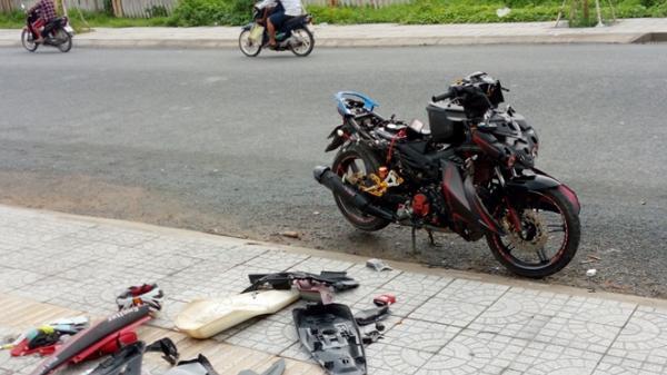 """Sóc Trăng: Đánh vợ giữa đường sau đó phá banh xe """"xịn"""" vì nguyên nhân bất ngờ"""