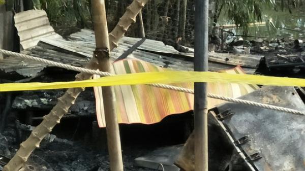 Cà Mau: KINH HOÀNG chồng chém vợ, phóng hỏa đốt nhà khiến 2 người chết cháy