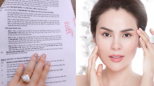 Người đẹp Trà Vinh Lê Phương là sao Việt đầu tiên của V-biz công khai cát-xê khủng khi làm đại sứ thương hiệu