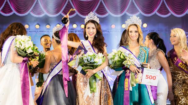 VIDEO: Khoảnh khắc người đẹp miền Tây Phan Thị Mơ đăng quang Hoa hậu Đại sứ Du lịch thế giới 2018