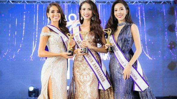 Ngắm mỹ nữ miền Tây có vòng ba 100cm, đăng quang Hoa hậu Đại sứ Du lịch Thế giới
